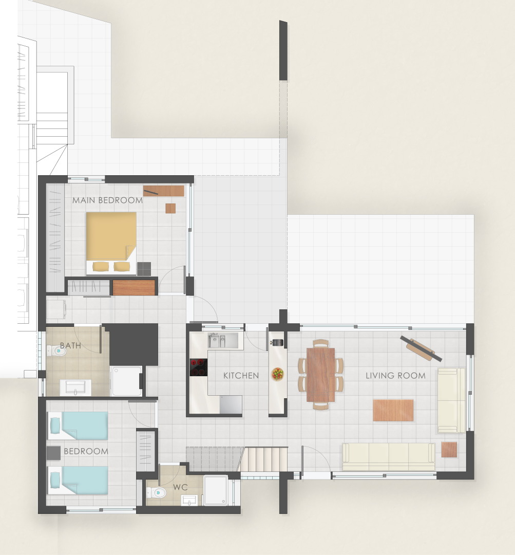 Smart Villas In Chania Crete For Vacation Floor Plans